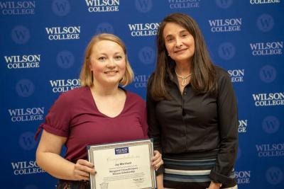 Wilson 2019 Disert Scholar Joy Merchant.