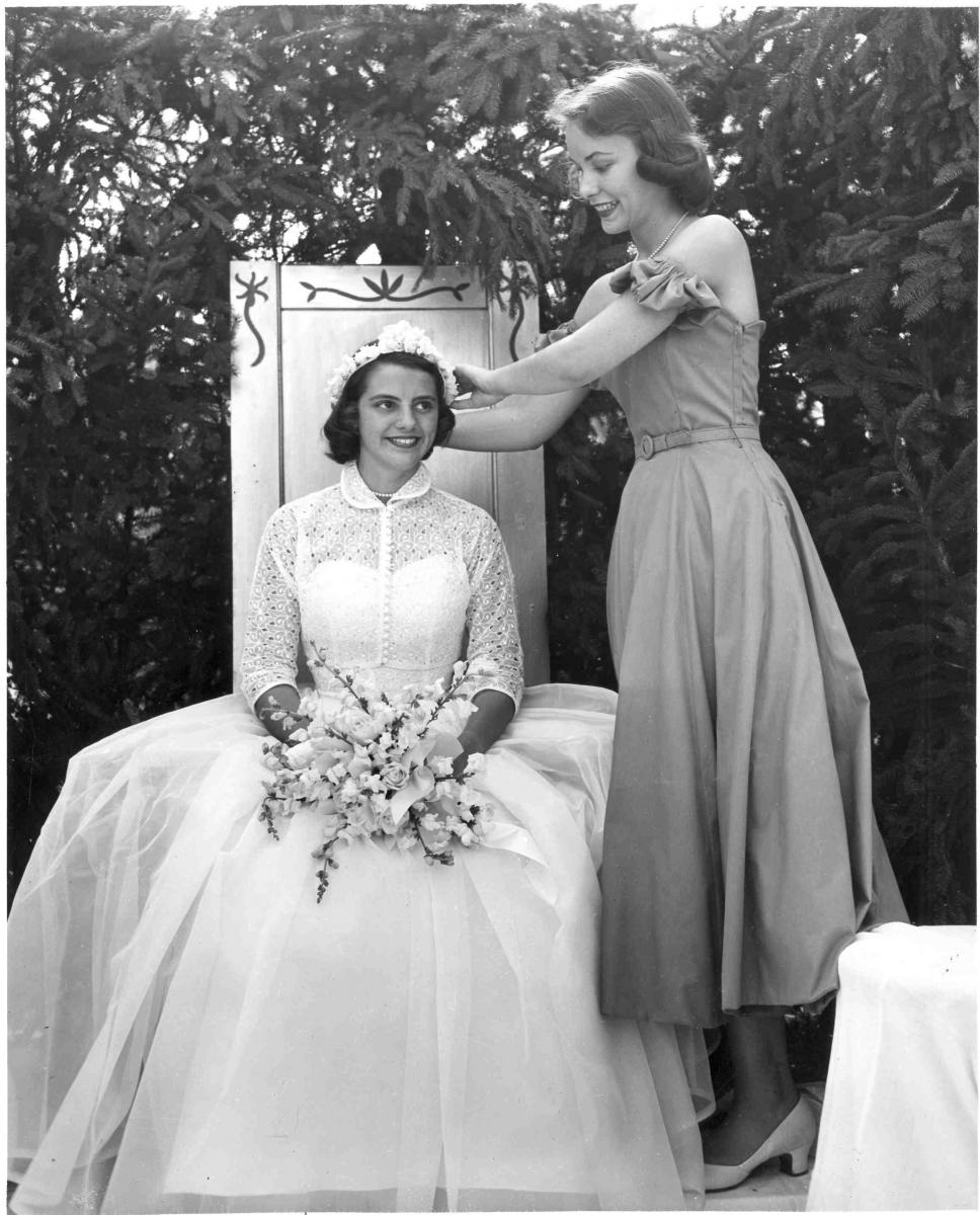 1953 May Queen Ruth Huges