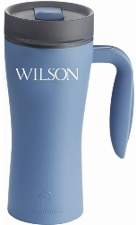 Wilson Mug Insulated travel mug for hot and cold beverages $8 each