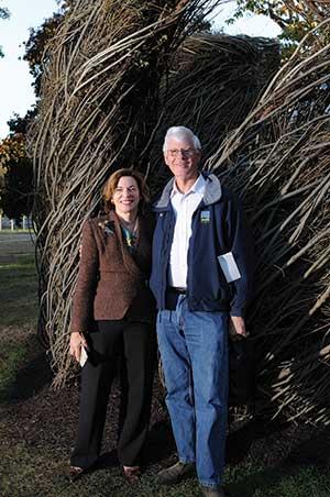 Barbara K. Mistick and Patrick Dougherty